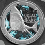 2012 NZ Great White Shark, 1oz Proof
