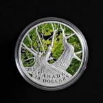 2013 - Canada - Canadian Maple Canopy (Spring) - 1oz