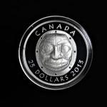 2013 - Canada - Grandmother Moon Mask - 1oz