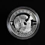 2013 - Canada - the Beaver - 1/2oz