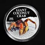 2013 - Pitcairn Island - Giant Coconut Crab - 1oz