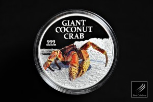 2013 - Pitcairn Island - Giant Coconut Crab - 1oz
