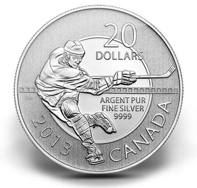 2013加拿大曲棍球銀幣