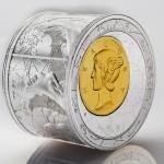 2013紐埃商貿之神精制銀幣