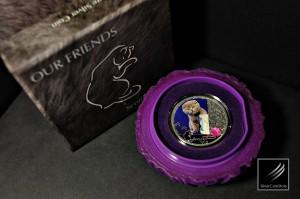 2012蘇格蘭摺耳貓精制銀幣