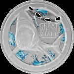 2012大白鯊精制銀幣 – 紐埃