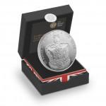 英女皇加冕典禮60周年精鑄銀幣 - 英國 - 2013 - 28.28g