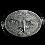 Fascinating Wildlife: American Bald Eagle, Fiji, 2013, 1oz