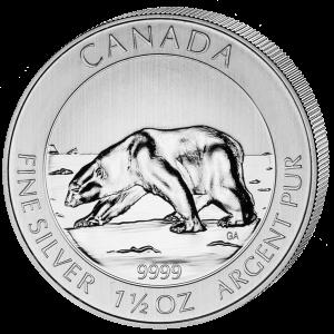 Polar Bear, Canada, 2013, 1.5oz