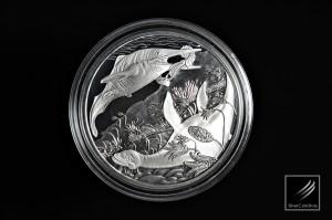 奧地利史前生物系列: 三疊紀精鑄銀幣 - 奧地利 - 2013 - 18g