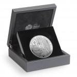 英女皇加冕典禮60周年精鑄銀幣 - 英國 - 2013 - 156g