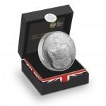 英女皇加冕典禮60周年加厚精鑄銀幣 - 英國 - 2013 - 56.56g