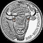 白俄羅斯野生動物系列: 野牛精鑄銀幣套裝 - 白俄羅斯 - 2012 - 62.2g