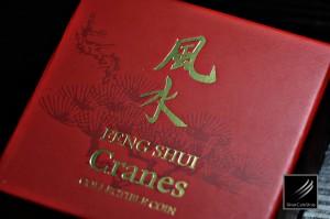 Feng Shui Cranes (風水鶴), Niue, 2013, 31g