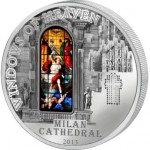 Windows of Heaven: Milan Cathedral, 2013, Cook Islands, 50g