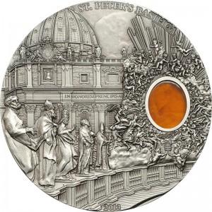 Mineral Art: Saint Peter Basilica, Palau, 2013, 2oz