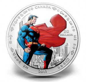Superman: Man of Steel, Canada, 2013, 1oz