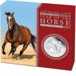Year of Horse Proof, Australia, 2014, 1oz