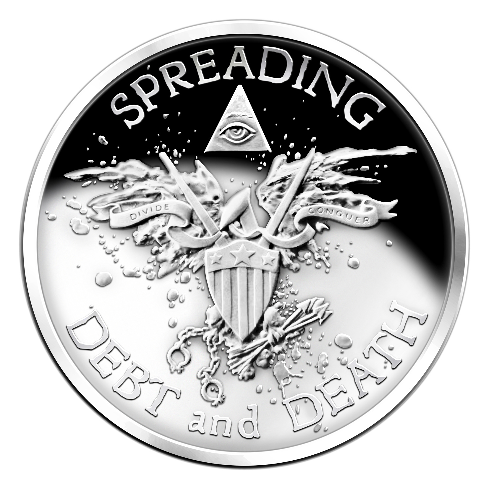Warbird Medal Proof Like, SBSS, 1oz