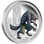 Mythical Creatures: Werewolf, Tuvalu, 2013, 1oz