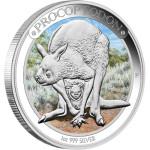 Australian Megafauna: Procoptodon, Australia, 2013, 1oz