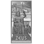 Gods of Ancient Greece: Zeus, Niue, 2013, 2oz