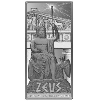 Gods of Ancient Greece: Zeus, Niue, 2013, 2oz