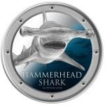 Hammerhead Shark, Niue, 2013, 1oz