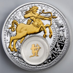 Zodiac 2013: the Sagittarius, Belarus, 2013, 28.28g