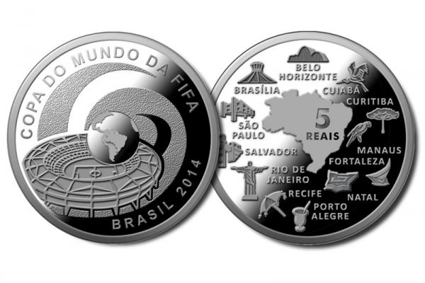 Brazilian Central bank will sell World Cup commemorative coins
