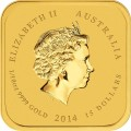 Year of the Horse Ten-coin Collection (Gold), Australia, 2014, 10×0.1oz