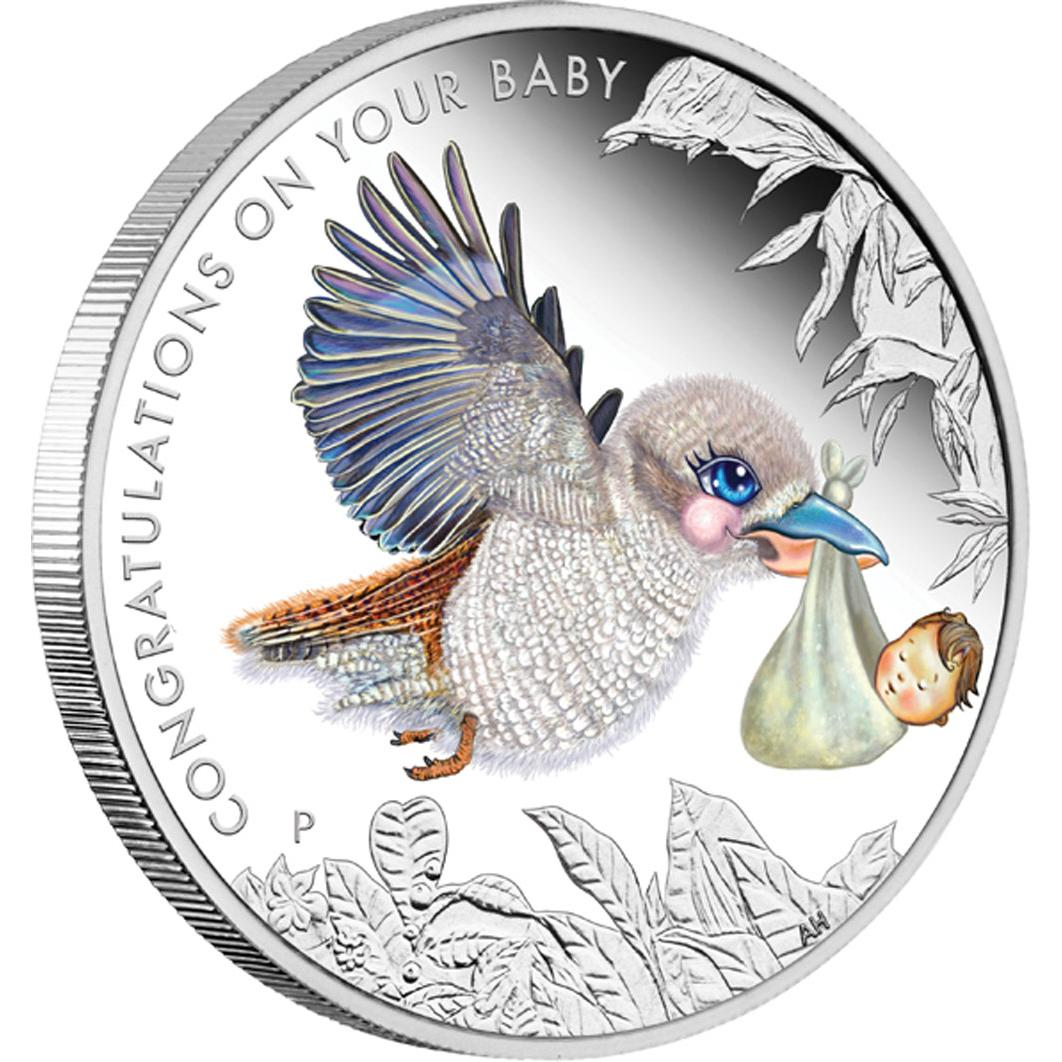 Baby Gift Gold Coin : Newborn baby australia  oz silvercoinstory