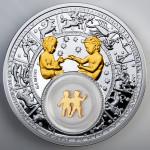 Zodiac 2013: the Gemini, Belarus, 2013, 28.28g