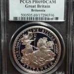 Britannia Proof (PCGS PR69DCAM), Great Britain, 2009, 1oz (17296516)