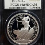 Britannia Proof (PCGS PR69DCAM), Great Britain, 2012, 1oz (17250430)