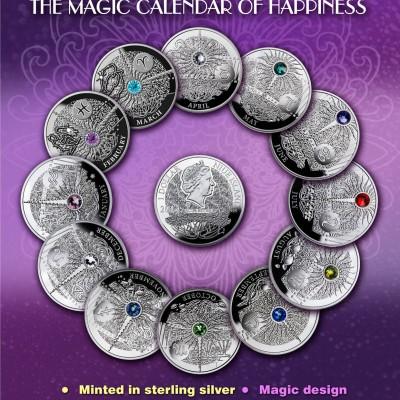 Magic Stones of Happiness Set, Niue, 2013 - 2014, 10g x 12