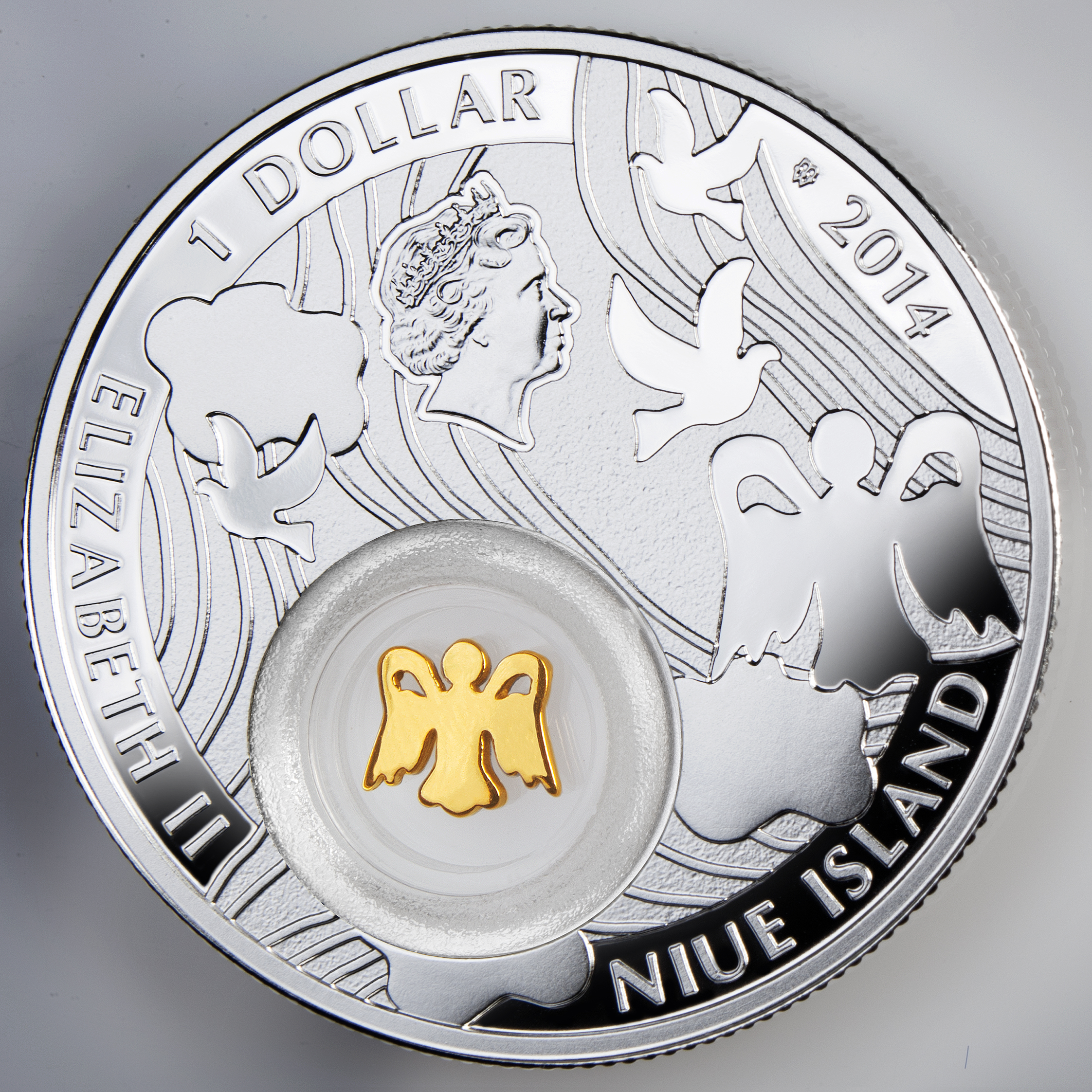 Symbols Of Luck Angel Niue 2014 1414g Silvercoinstory
