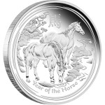 Year of the Horse Proof, Australia, 2014, 5oz