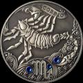 Zodiac Antique: Scorpio, Belarus, 2013, 28.28g