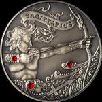 Zodiac Antique: Sagittarius, Belarus, 2013, 28.28g