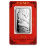 PAMP Year of the Dragon Bar, 1oz