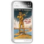 Australian Posters of World War I: Enlistment, Australia, 2014, 1oz
