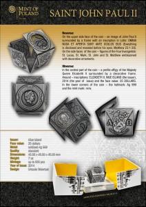 Saint John Paul II_Cube coin_EN-002