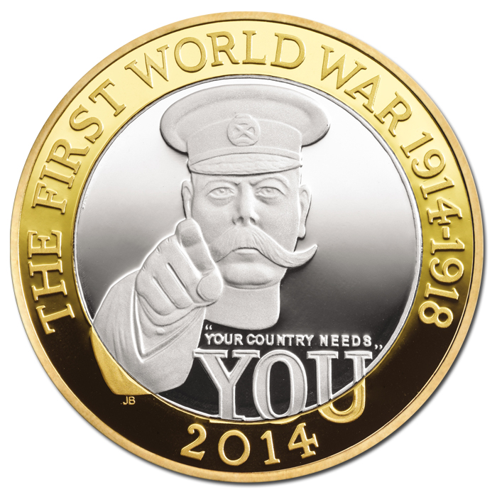 The 100th Anniversary of the FWW: Outbreak, UK, 2014, 12g