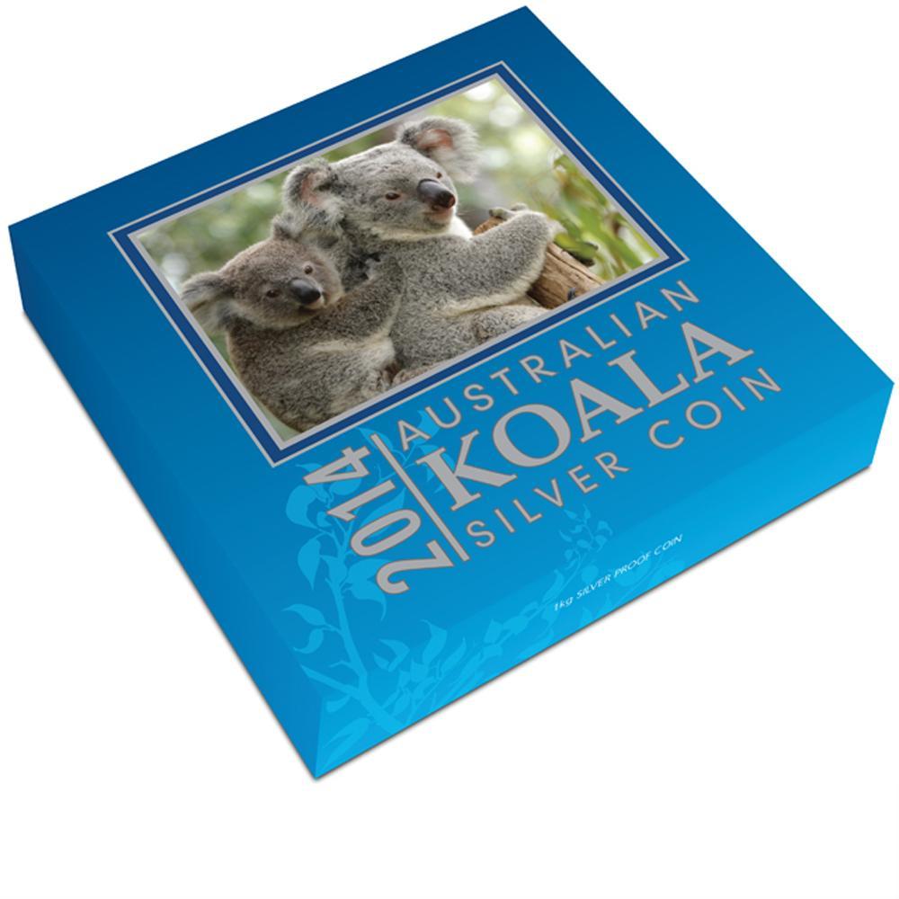 Koala Proof Australia 2014 1kg Silvercoinstory