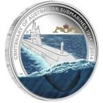 Centenary of Australian Submarines & Replica Badge Set, Australia, 2014, 1oz