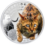 Man's Best Friends: Bengal Cat, Niue, 2014, 17.5g