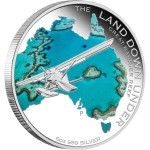 The Land Down Under: Great Barrier Reef Special Edition, Australia, 2014, 5oz