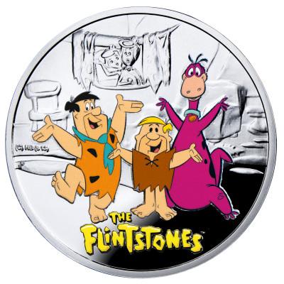 Cartoon Characters Series: Flintstones, Niue, 2014, 14.14g