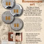 Art that Changed the World: Romanesque Art, Niue, 2014, 3oz
